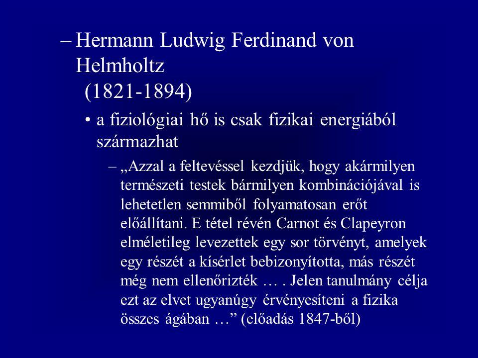 Hermann Ludwig Ferdinand von Helmholtz (1821-1894)