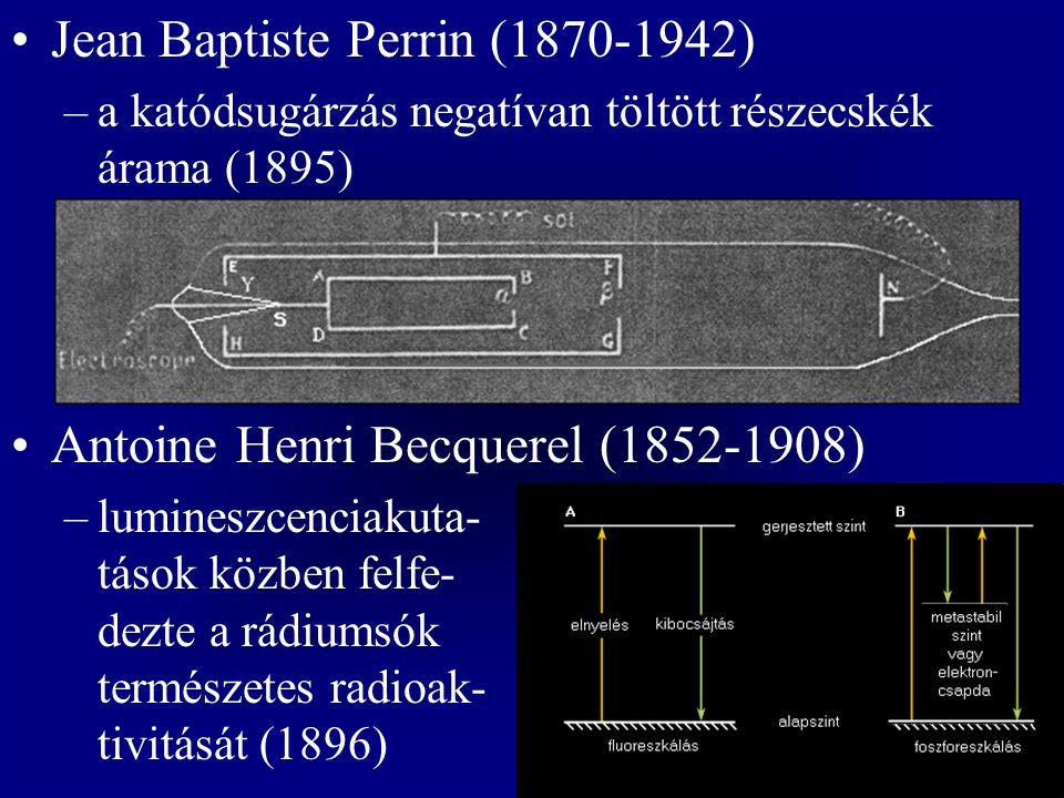 Jean Baptiste Perrin (1870-1942)