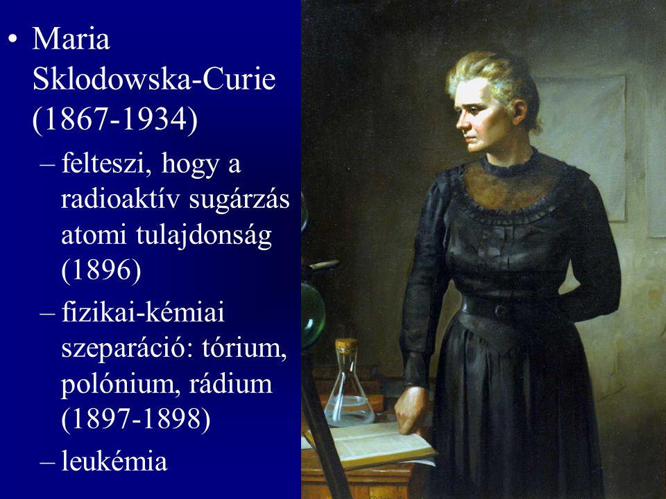 Maria Sklodowska-Curie (1867-1934)