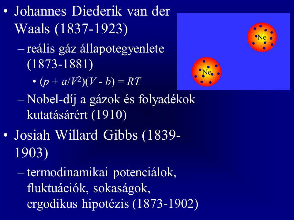 Johannes Diederik van der Waals (1837-1923)