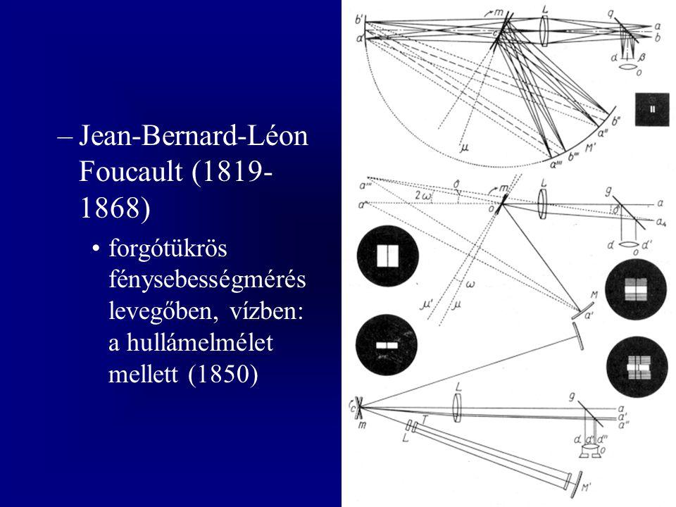 Jean-Bernard-Léon Foucault (1819-1868)