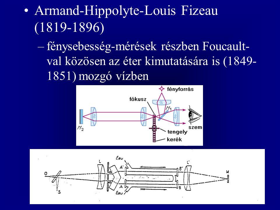 Armand-Hippolyte-Louis Fizeau (1819-1896)