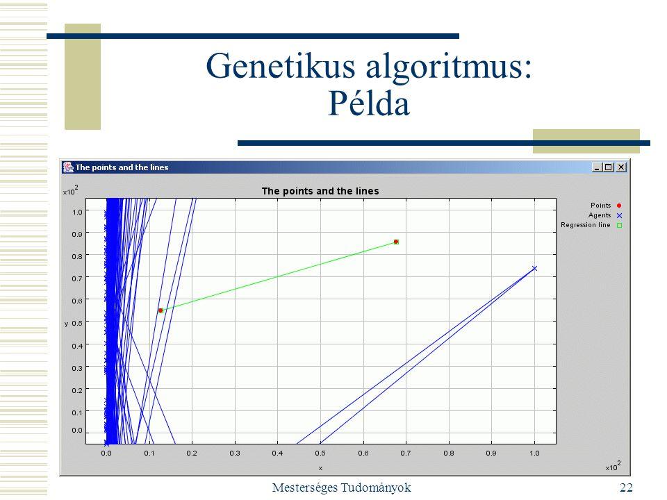 Genetikus algoritmus: Példa