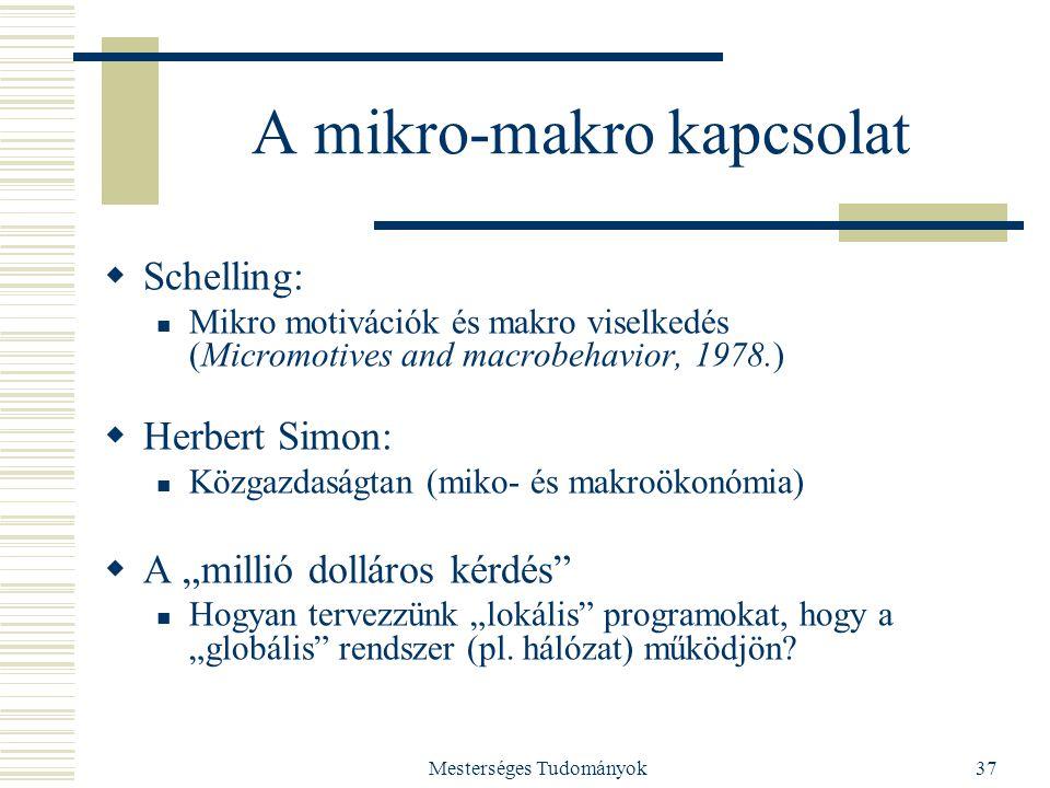 A mikro-makro kapcsolat