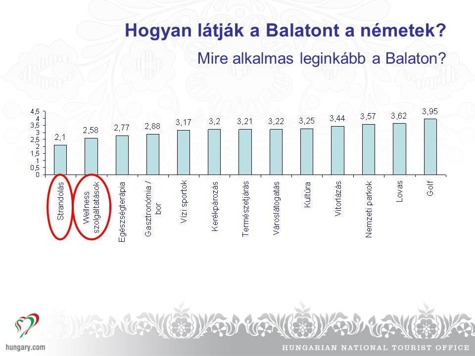 Hogyan látják a Balatont a németek Mire alkalmas leginkább a Balaton