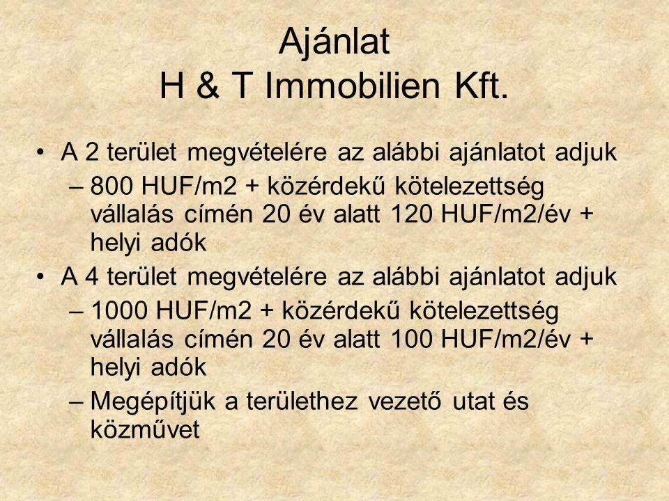 Ajánlat H & T Immobilien Kft.