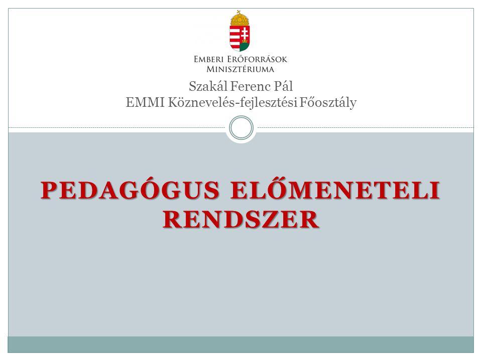 Szakál Ferenc Pál EMMI Köznevelés-fejlesztési Főosztály