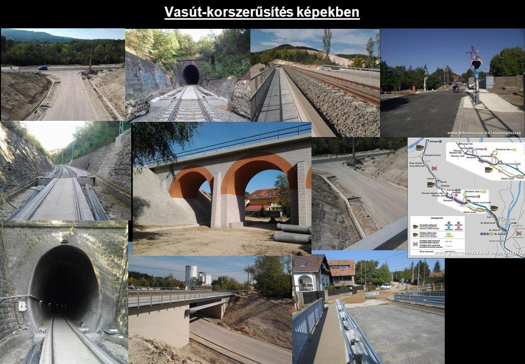 Vasút-korszerűsítés képekben