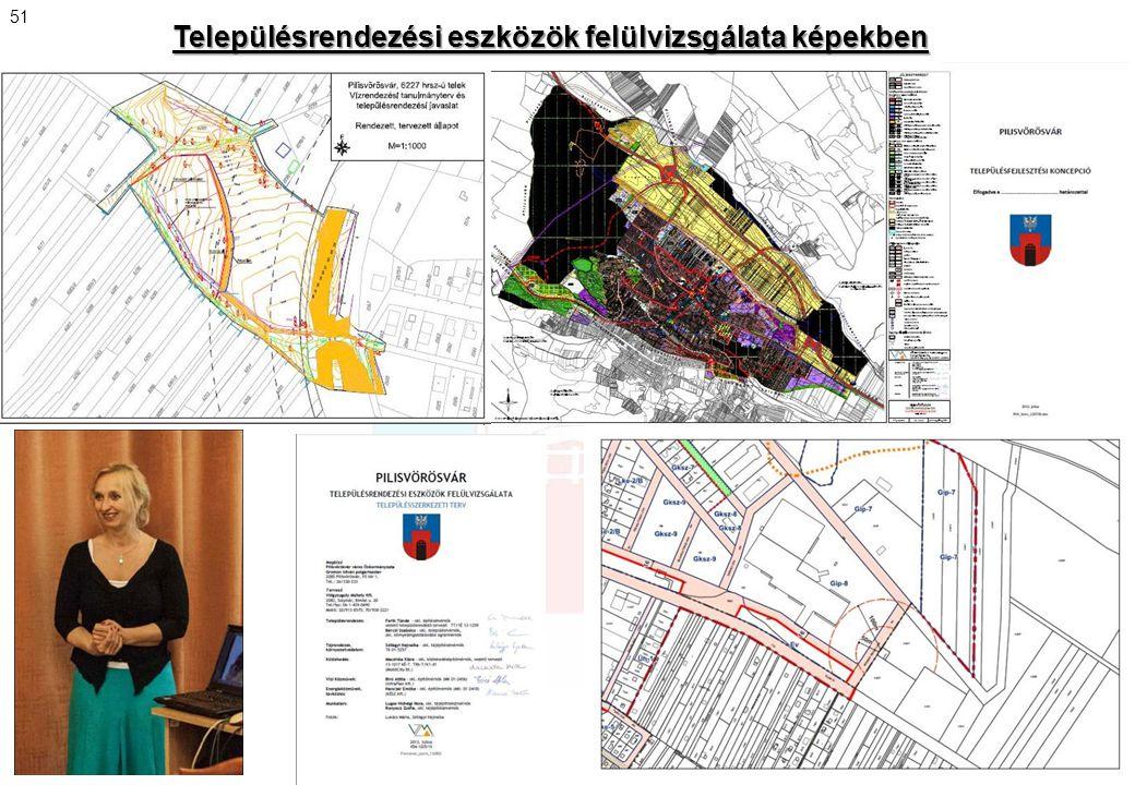 Településrendezési eszközök felülvizsgálata képekben