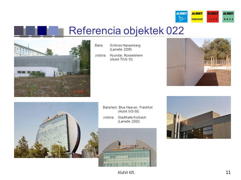 Referencia objektek 022 Aluhit Kft.