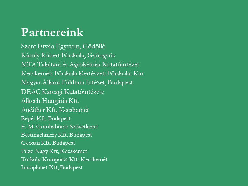 Partnereink Szent István Egyetem, Gödöllő