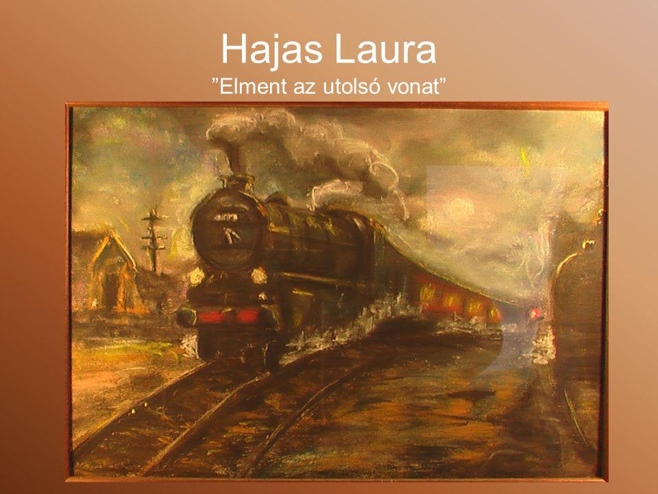 Hajas Laura Elment az utolsó vonat