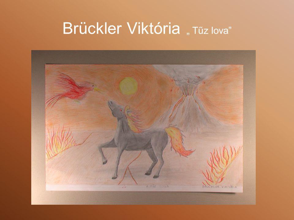 """Brückler Viktória """" Tűz lova"""
