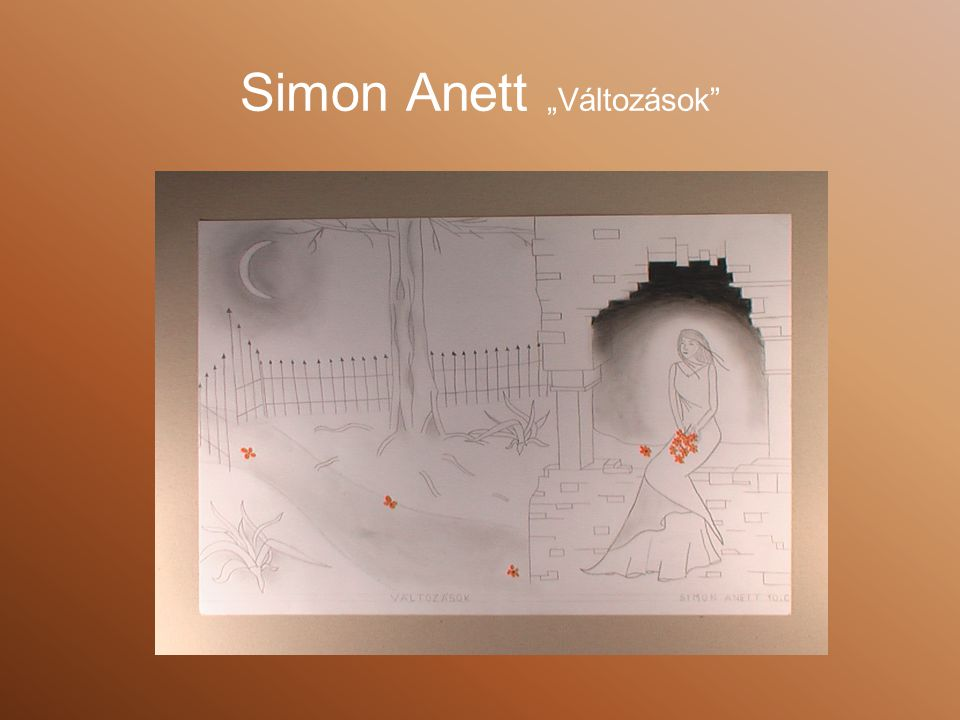 """Simon Anett """"Változások"""