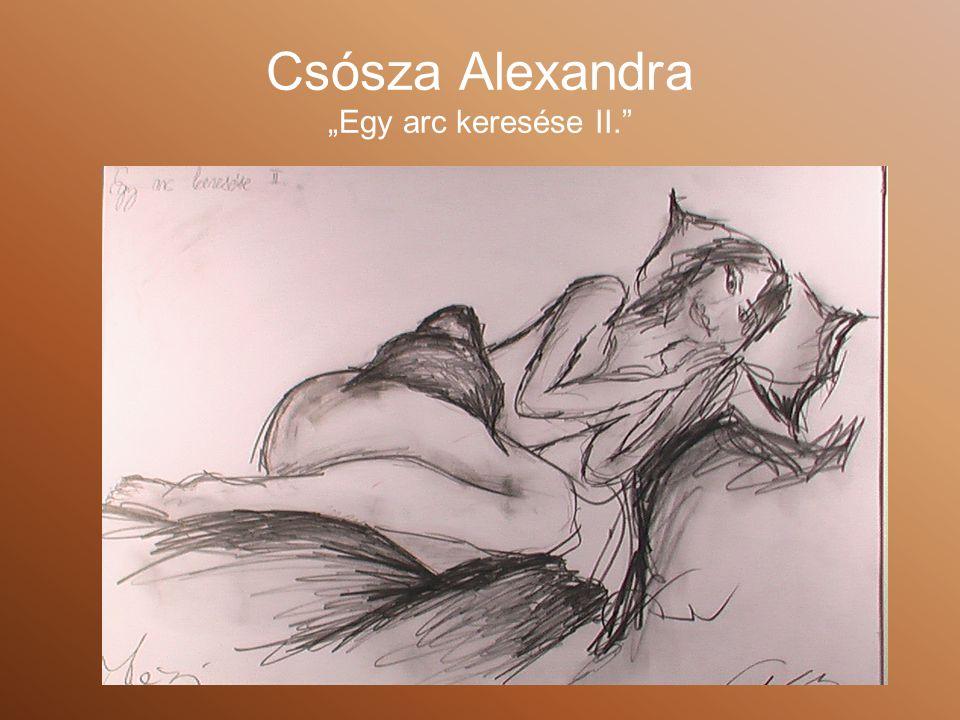 """Csósza Alexandra """"Egy arc keresése II."""