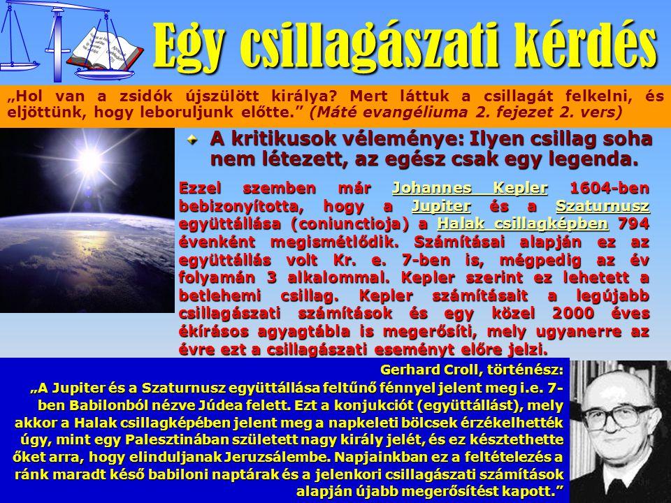Egy csillagászati kérdés