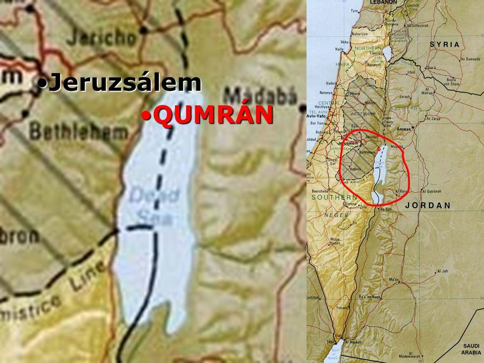 Izrael Jeruzsálem QUMRÁN