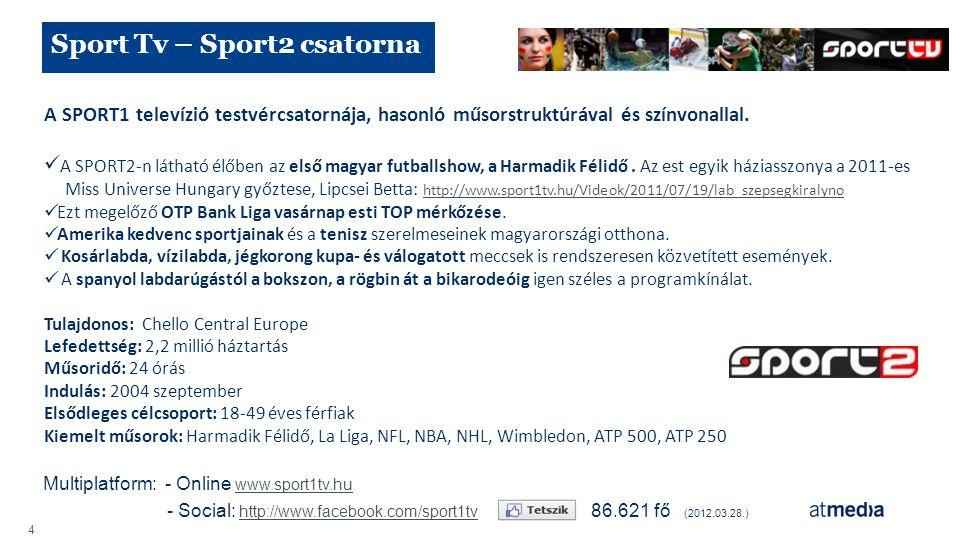 Sport Tv – Sport2 csatorna