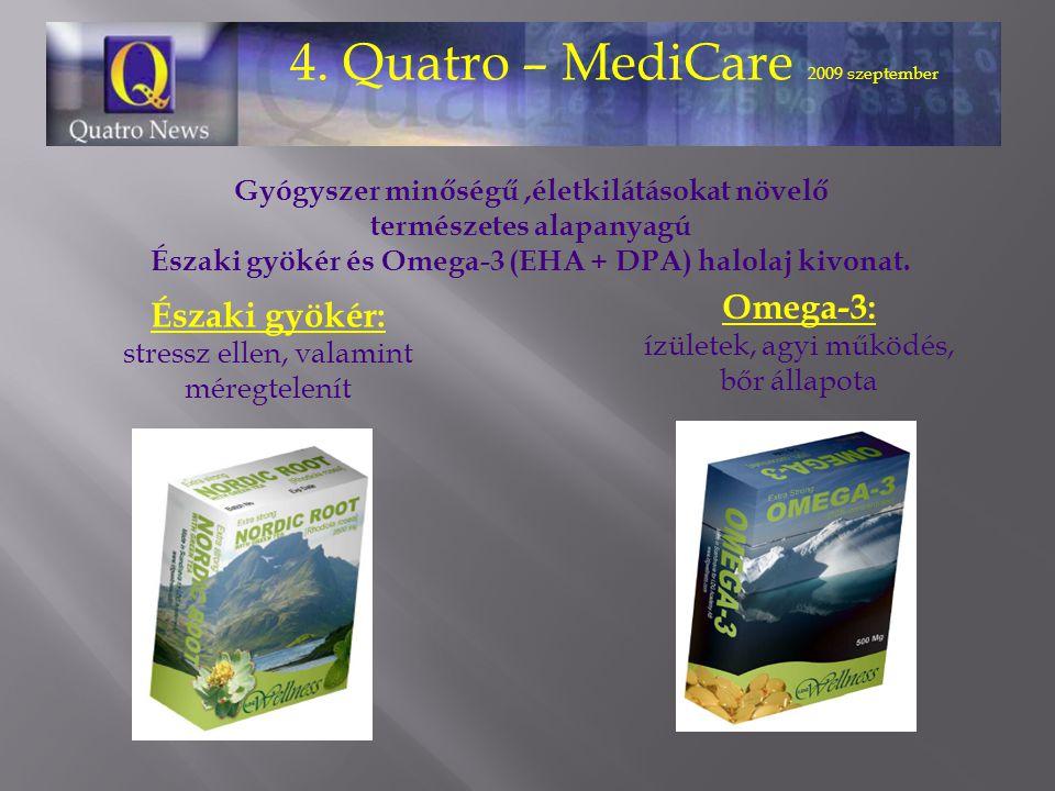 4. Quatro – MediCare 2009 szeptember