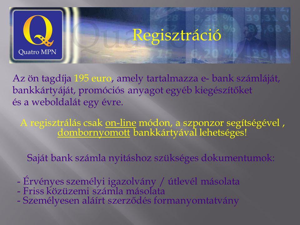 Saját bank számla nyitáshoz szükséges dokumentumok: