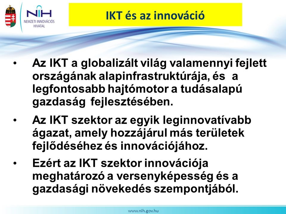 IKT és az innováció