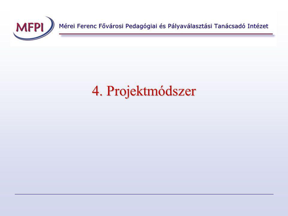 4. Projektmódszer
