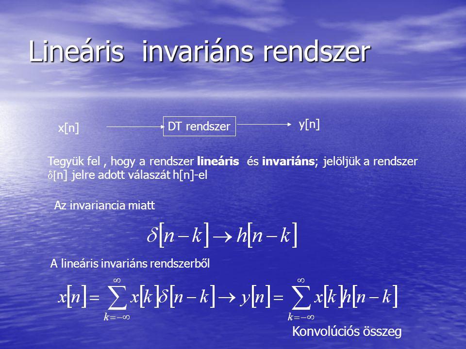 Lineáris invariáns rendszer