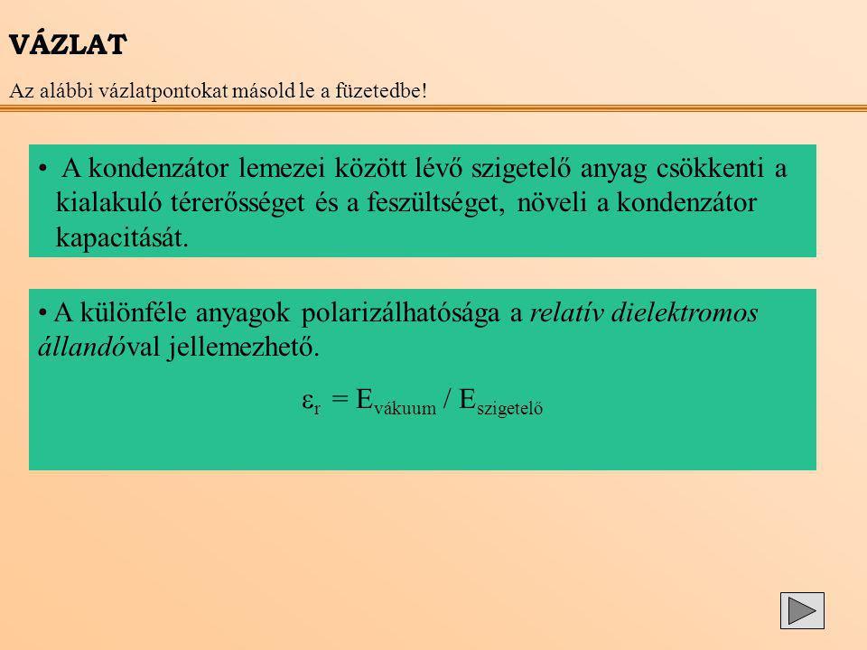 r = Evákuum / Eszigetelő