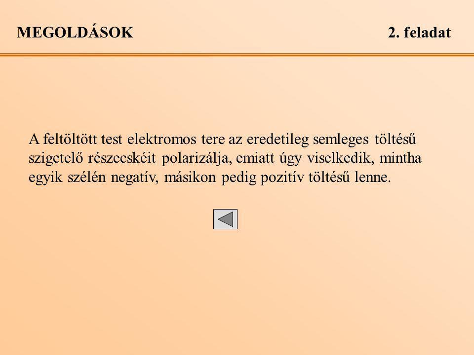 MEGOLDÁSOK 2. feladat.
