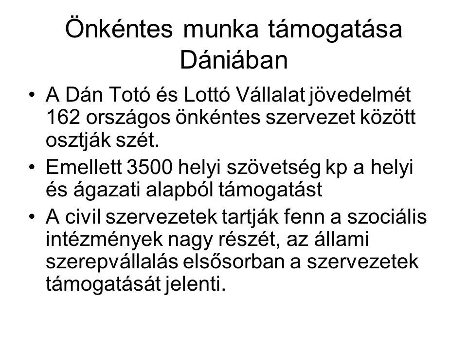 Önkéntes munka támogatása Dániában