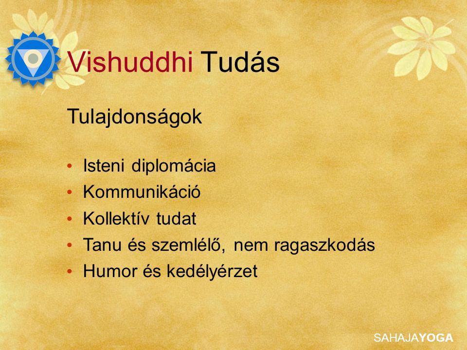 Vishuddhi Tudás Tulajdonságok Isteni diplomácia Kommunikáció