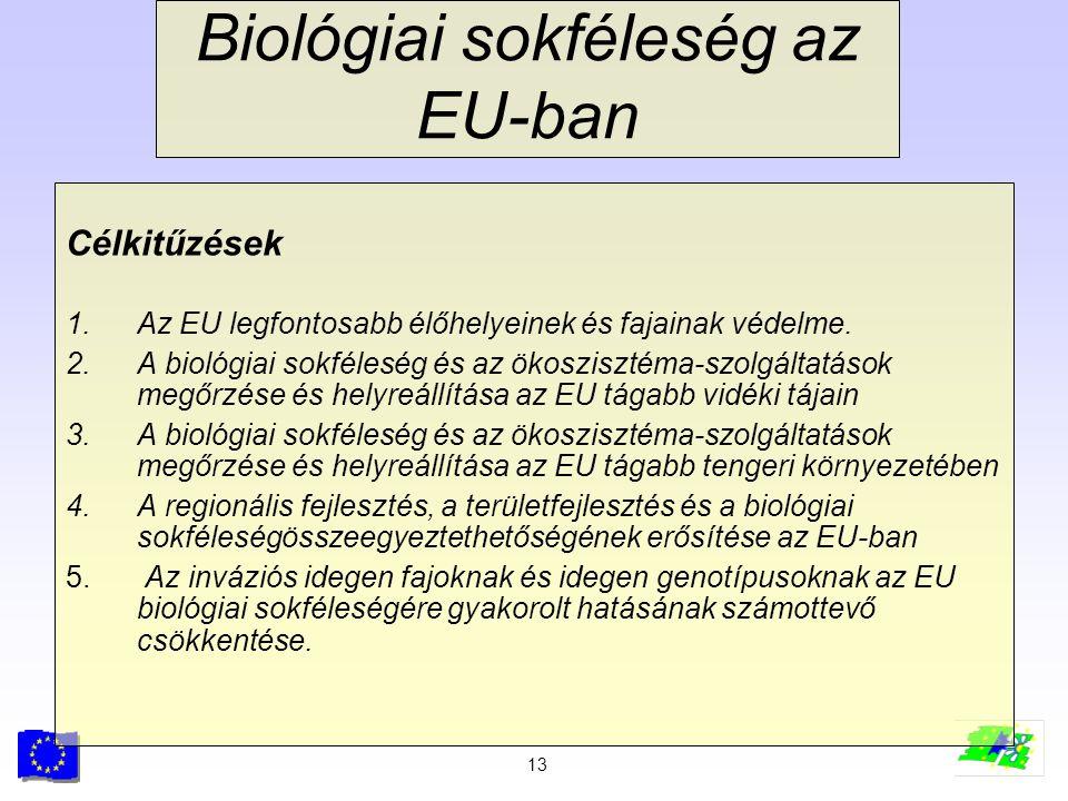 Biológiai sokféleség az EU-ban