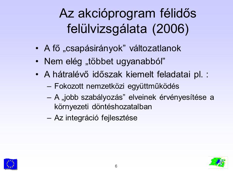 Az akcióprogram félidős felülvizsgálata (2006)