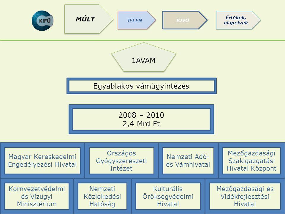 RÖVIDÍTÉSEK (MÁK stb) 1AVAM Egyablakos vámügyintézés 2008 – 2010