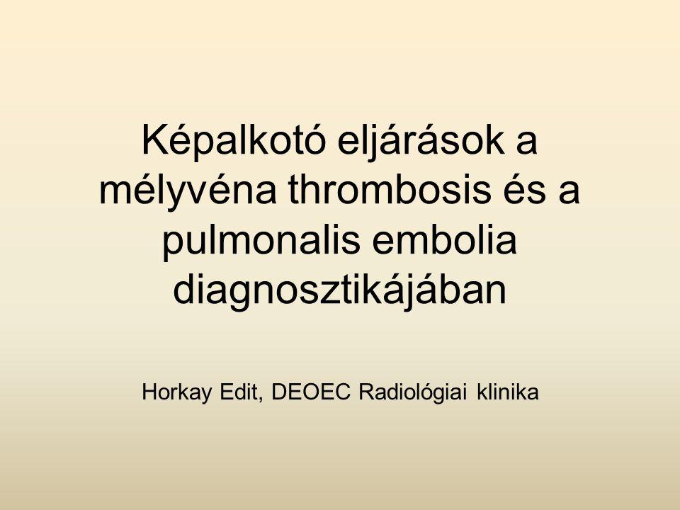 Horkay Edit, DEOEC Radiológiai klinika