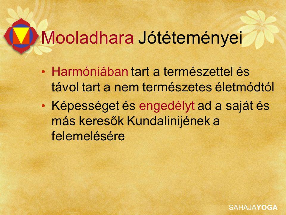 Mooladhara Jótéteményei