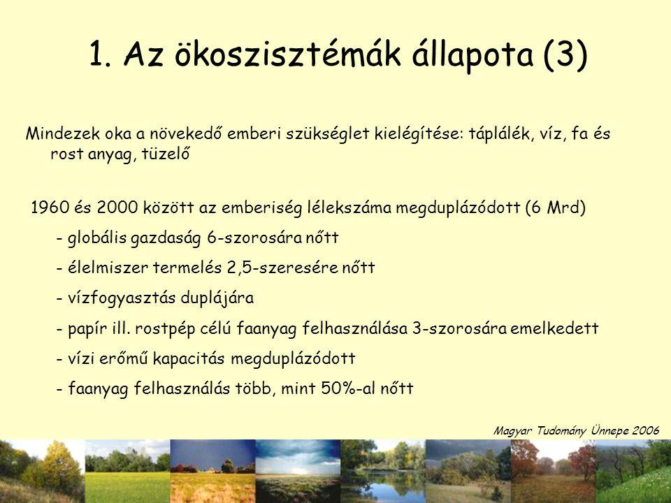 1. Az ökoszisztémák állapota (3)