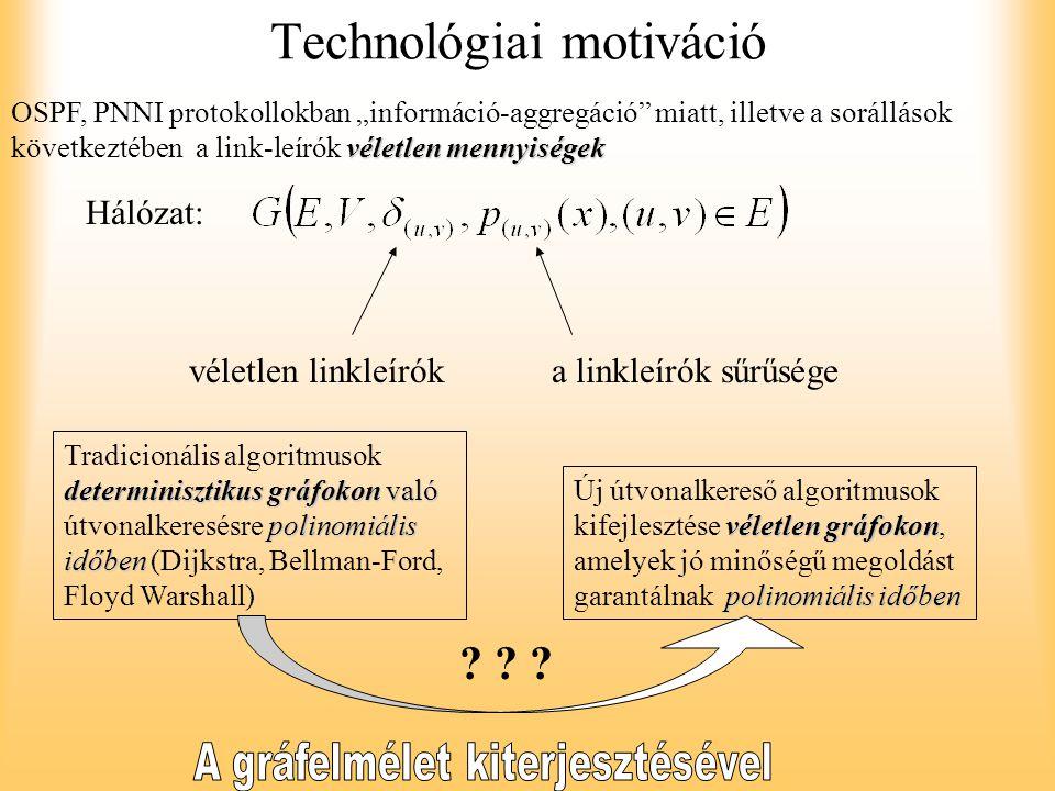 Technológiai motiváció