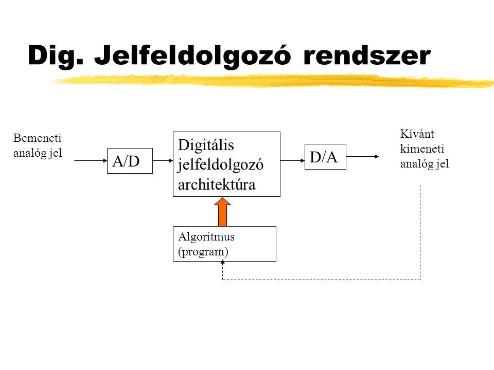 Dig. Jelfeldolgozó rendszer