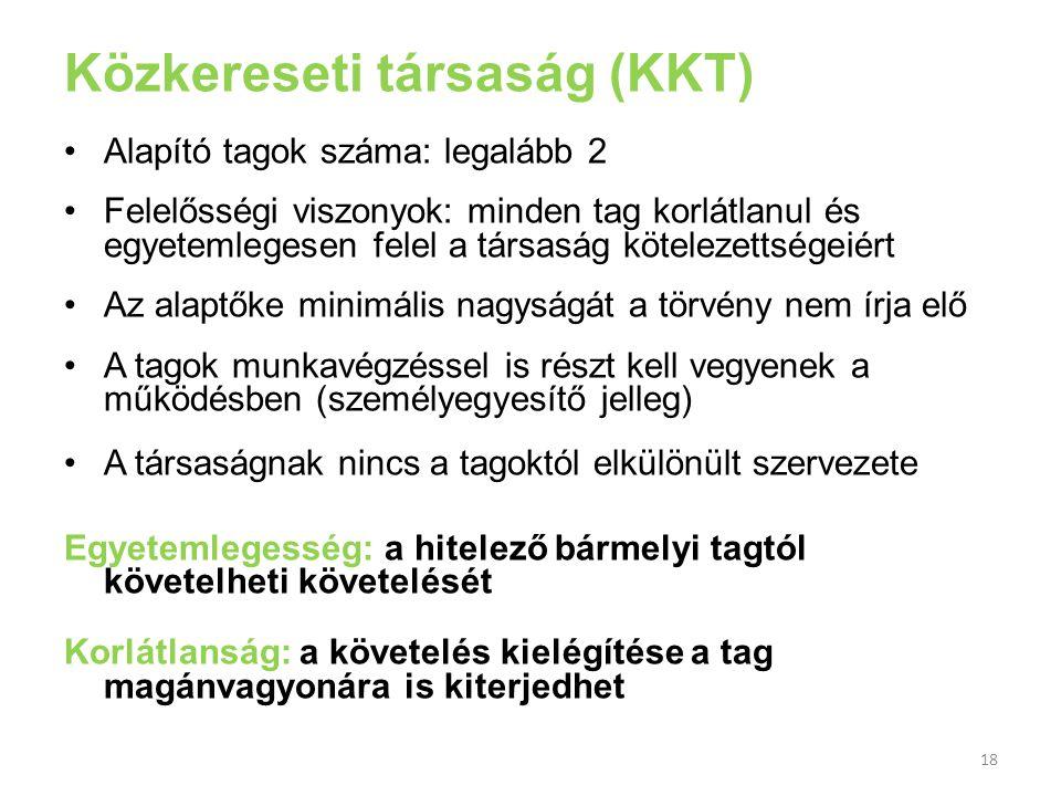 Közkereseti társaság (KKT)