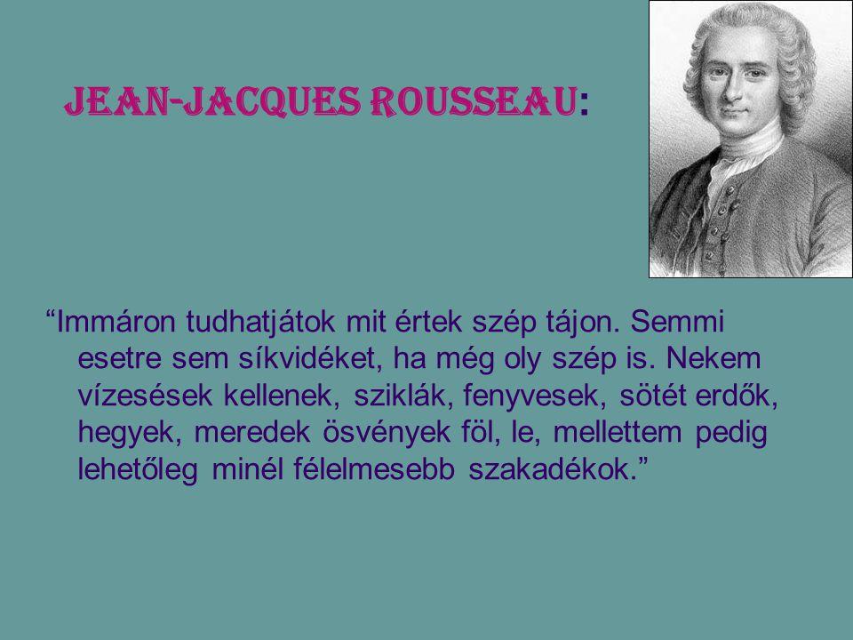 Jean-Jacques Rousseau: