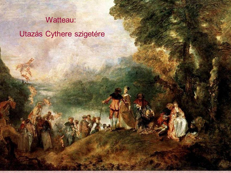 Utazás Cythere szigetére