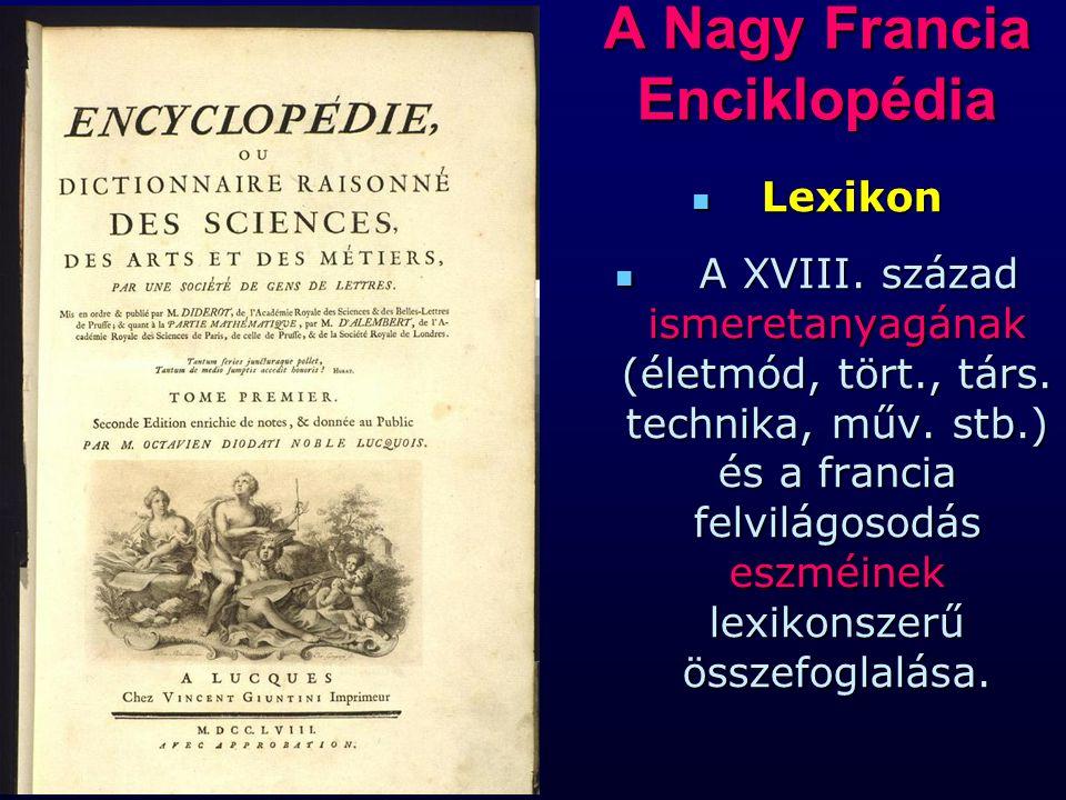A Nagy Francia Enciklopédia