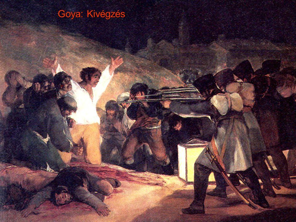 Goya: Kivégzés