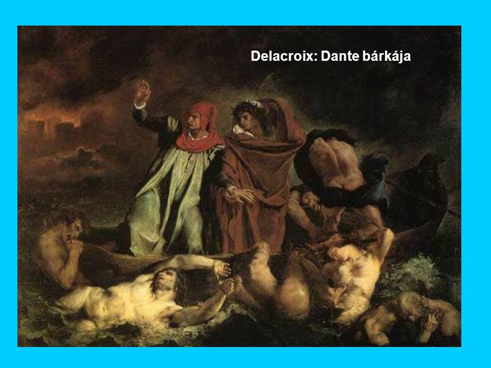 Delacroix: Dante bárkája