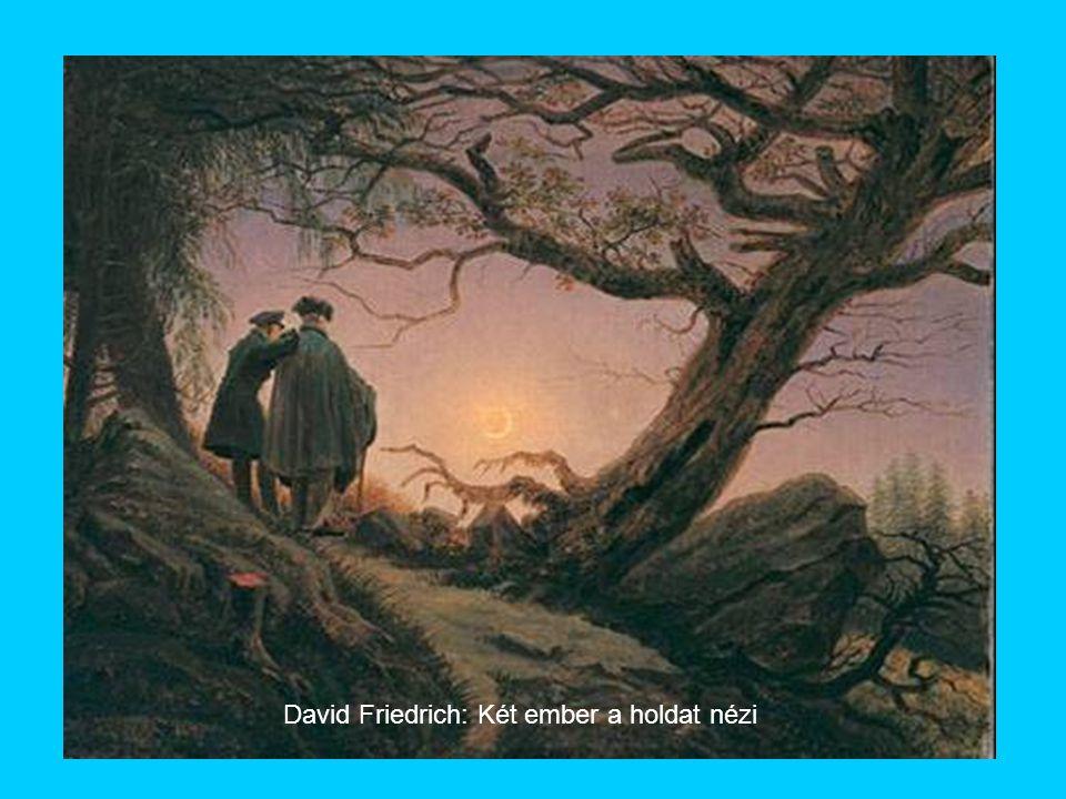David Friedrich: Két ember a holdat nézi