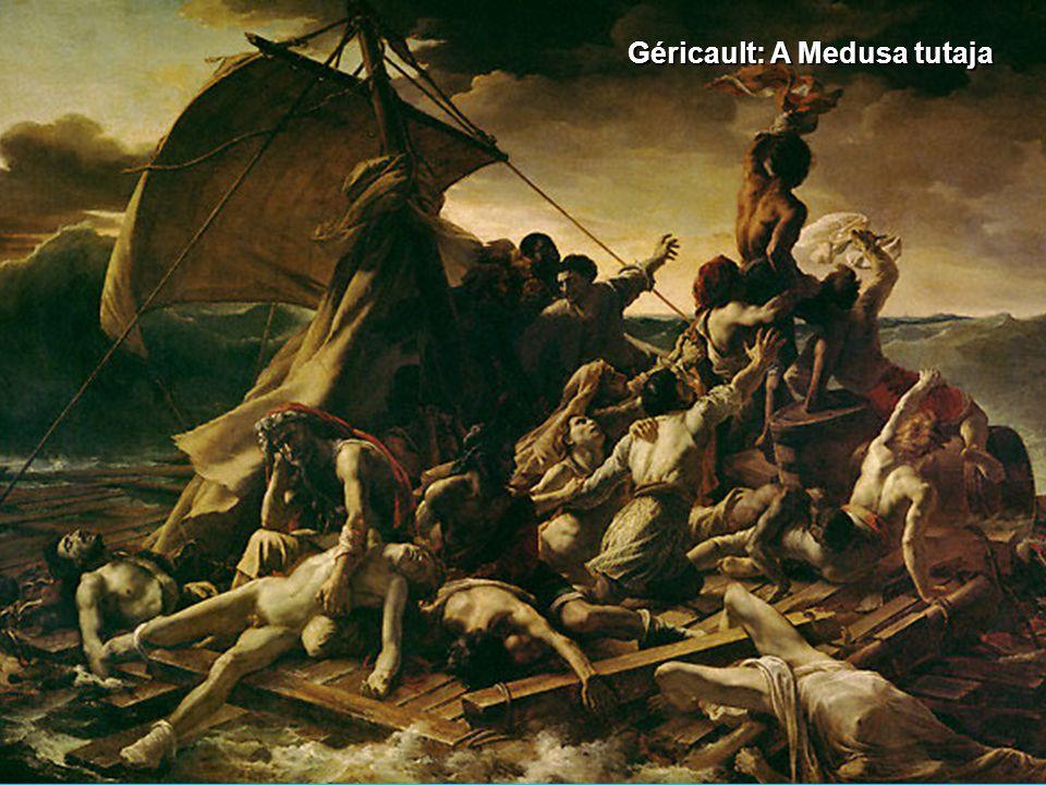 Géricault: A Medusa tutaja