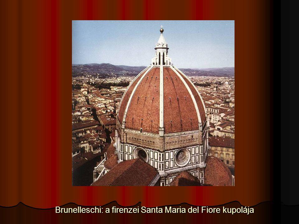Brunelleschi: a firenzei Santa Maria del Fiore kupolája