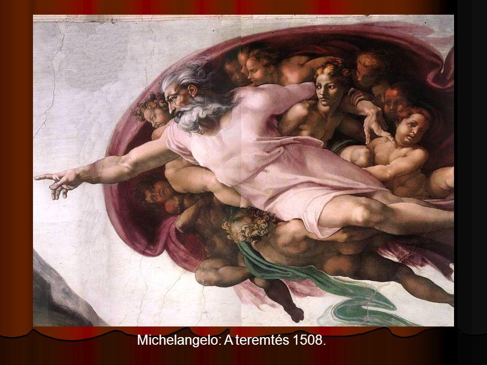 Michelangelo: A teremtés 1508.