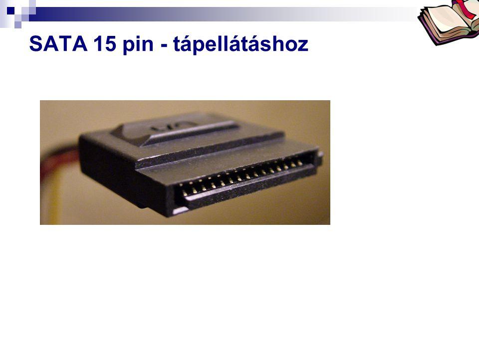 SATA 15 pin - tápellátáshoz